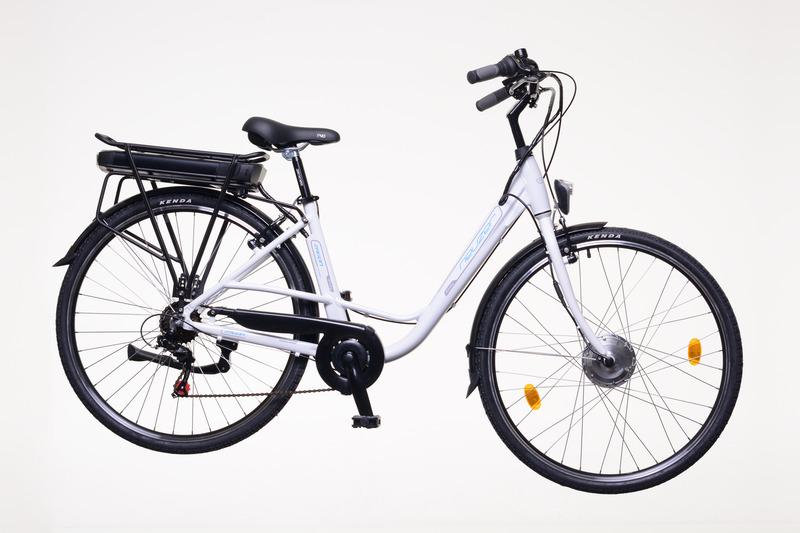 Neuzer E-Trekking Zagon MXUS női fehér/ezüst-kék