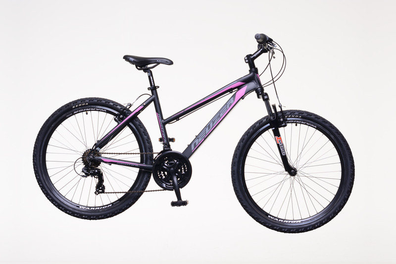 Neuzer Mistral 30 női fekete/pink-szürke