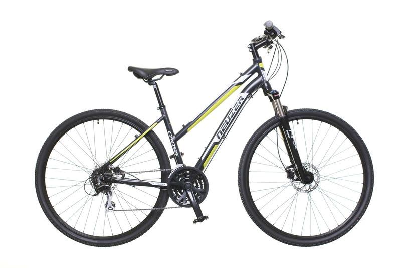 Neuzer X300 női fekete/fehér-zöld