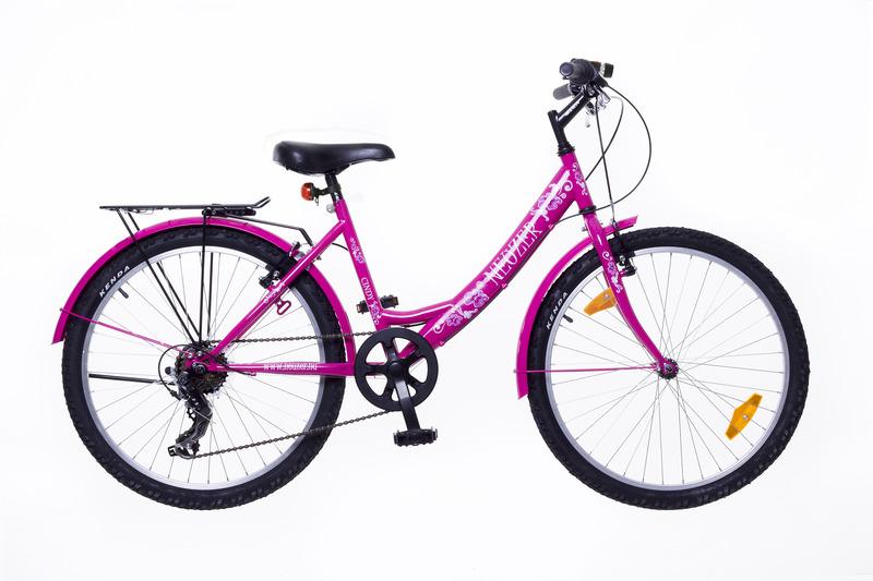 Neuzer Cindy 24 City lány pink/pink