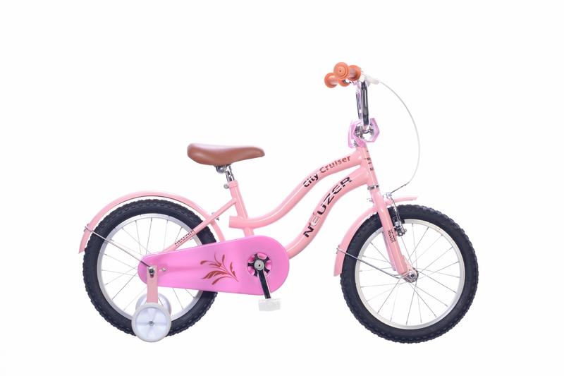 Neuzer Cruiser 16 lány rózsaszín/fekete