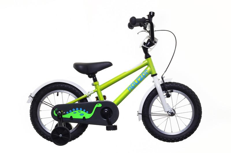 Neuzer BMX 14 fiú zöld/fehér-kék