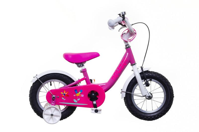 Neuzer BMX 12 lány pink/fehér-pink